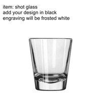 Laser Engraved Shot Glasses