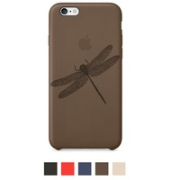 Engraved Apple iPhone 6 Case - Leather